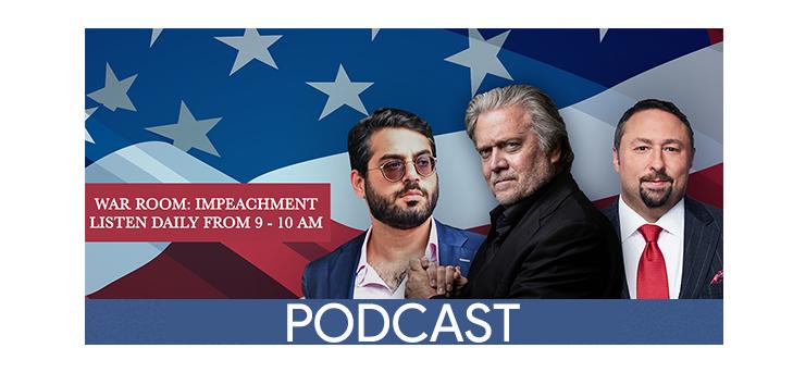 war room podcast header